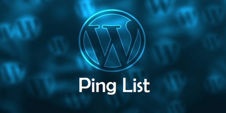 2021 wordpress ping servisleri