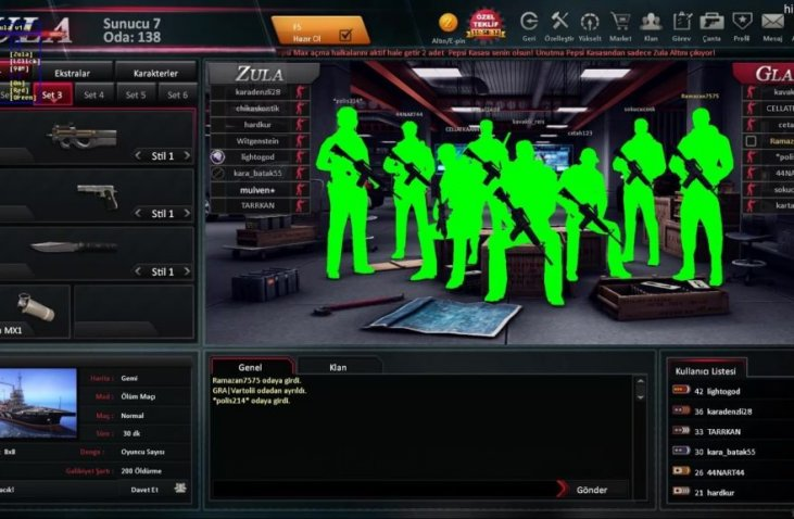 Zula Wall Hack Aim Bot İndir